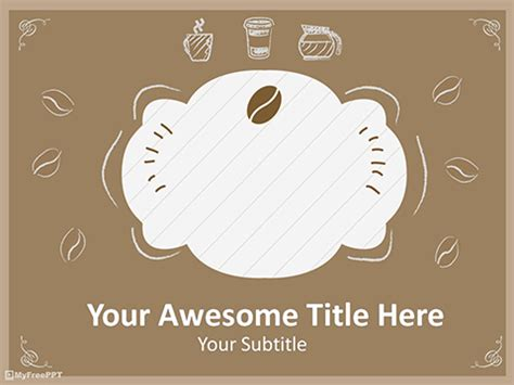 menu template powerpoint free food drink powerpoint templates themes ppt