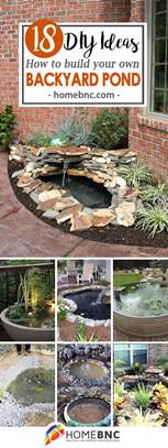 diy backyard pond ideas 18 best diy backyard pond ideas and designs for 2017