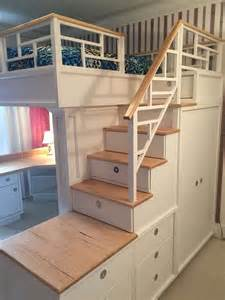 Bunk Bed With Stairs And Desk Best 25 Loft Bed Desk Ideas On Bunk Bed Desk Bunk Bed With Desk And 192 Mon Fils