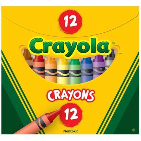 zcy52 12 crayola tuck box crayons regular size 92 x 8mm