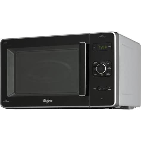 cucinare con il microonde whirlpool microonde whirlpool a libera installazione colore argento