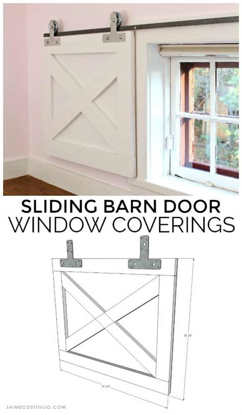 Barn Door Window Covering Plans - barn door window coverings with strong tie