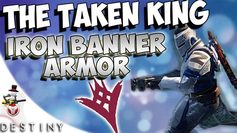 amazing cing gear the taken king new iron banner armor amazing
