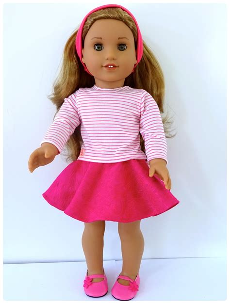 pattern with clothes doll clothes patterns by valspierssews skater skirt doll