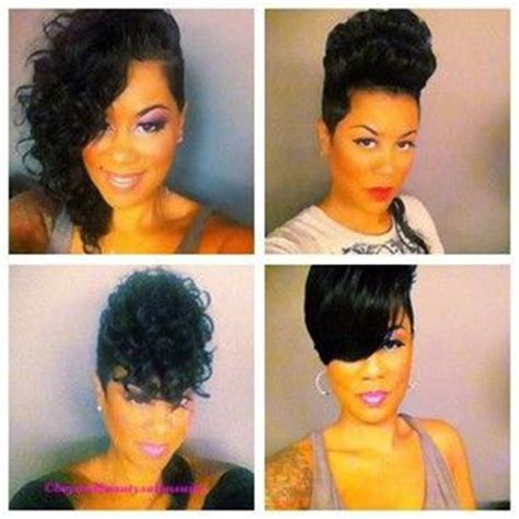 pixie cut glue in extensions 104 best quickweave styles images on pinterest quick