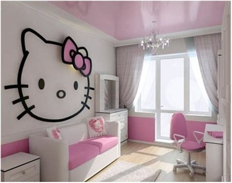 hello kitty teenage bedroom 15 adorable hello kitty bedroom ideas for girls rilane