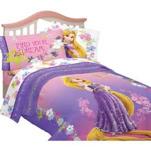 disney tangled twin full reversible comforter walmart com