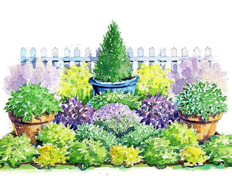 Perennial Herb Garden Layout 17 Best Ideas About Garden Design Plans On Pinterest Landscape Design Plans Small Garden