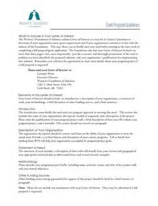 free letter of interest templates letter of interest