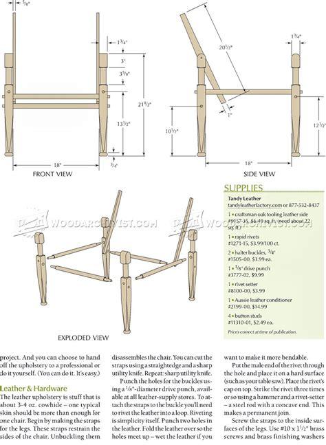 roorkhee chair plans woodarchivist