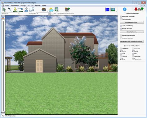 garten 3d software architekt 3d x8 home ultrarealistische planung haus