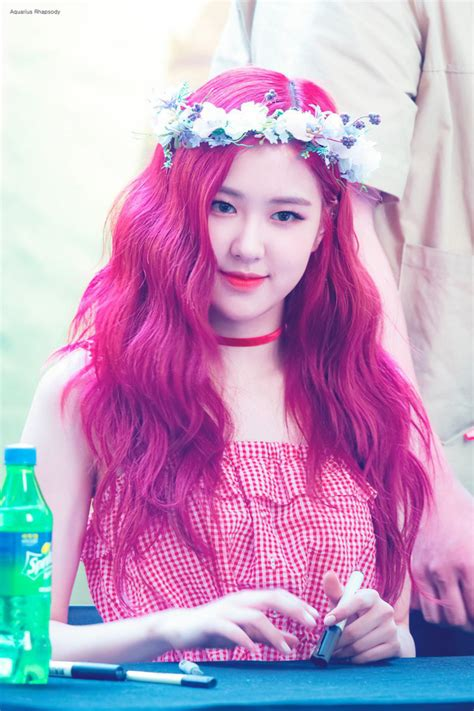 blackpinks rose shocked     hairstyle kbizoom
