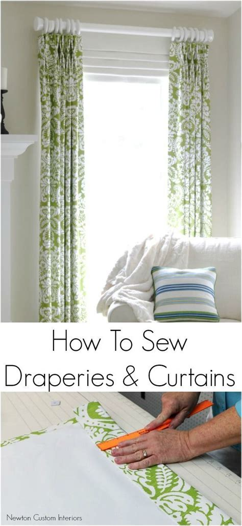how to make curtains for beginners 25 best ideas about how to fit curtains on pinterest