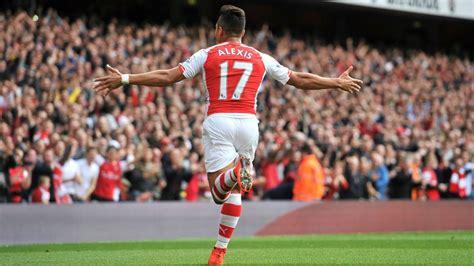 alexis sanchez arsenal goal com alexis s 225 nchez arsenal bpl goals passes 2014