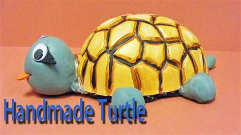 Things Made Out Of Recycled Materials by Hand Made Turtle Best From Waste Material Hand