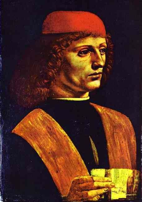 biography leonardo da vinci dalam bahasa inggris portrait of a young ma oil by leonardo da vinci 1452