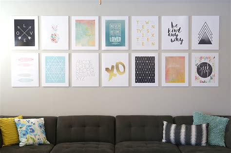 Fotos An Wand Befestigen by Diy Photo Mounting For A Cheap Easy Gallery Wall It S