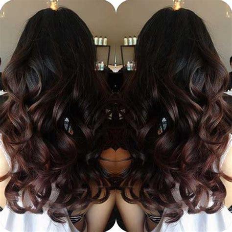 long dark brown ombre hair 25 long dark brown hairstyles hairstyles haircuts