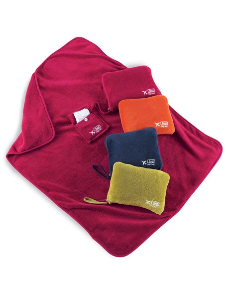 Ip20303 Travel Pillow Set 2 lug travel blanket pillow set