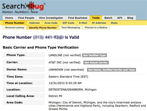Searchbug Finder How To Find Phone Carrier From Phone Number Best Free Phone Number Lookup
