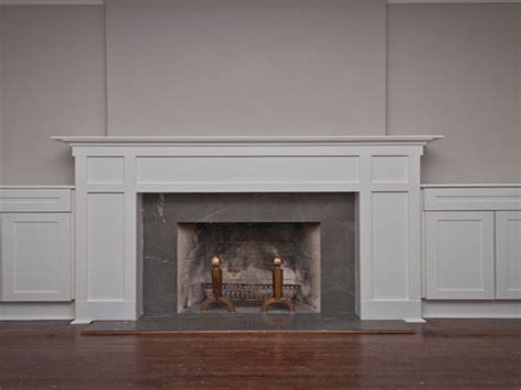 bookcase fireplace surround craftsman style fireplace