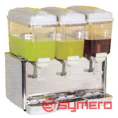 Dispenser Jus Plastik juice dispenser 3 bowl mesin jus dispenser