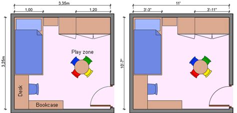 child bedroom size kid s bedroom layouts with one bed