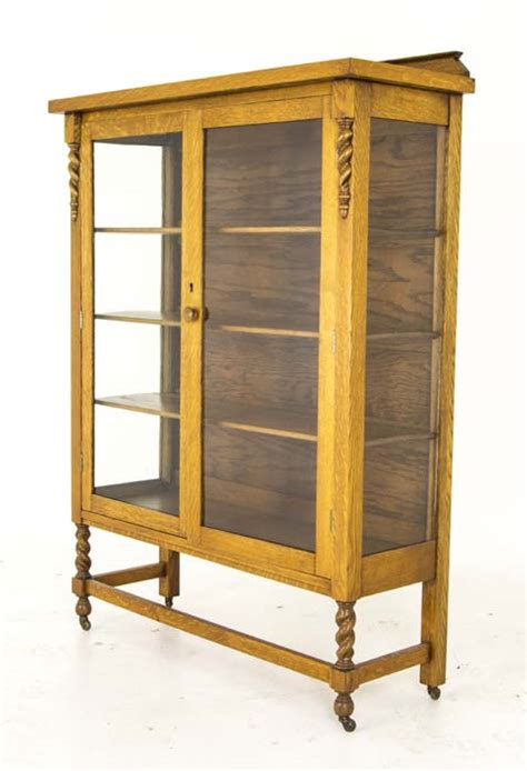 Antique Display Cabinet   Vintage China Cabinet   Canada, 1920   B735