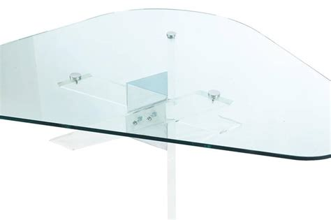 lucite and chrome terrarium coffee table at 1stdibs mid century modern lucite chrome and glass cocktail table