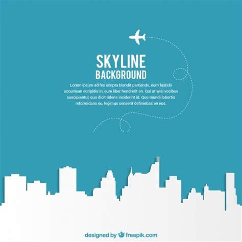 of manchester powerpoint template fondo silueta de la ciudad descargar vectores gratis