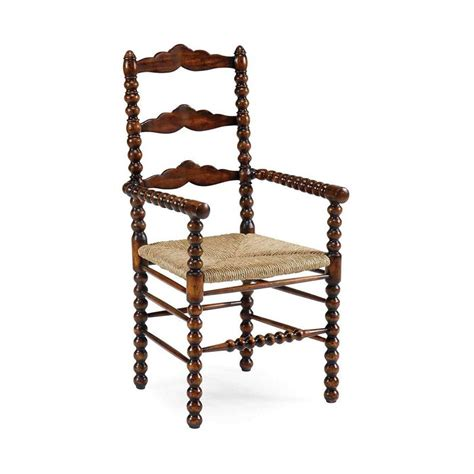 Cheap Ladder Back Chairs by Jonathan Charles 492991 Country Farmhouse Bobbin Turned