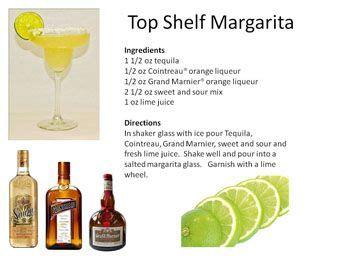 Top Shelf Margarita by Top Shelf Margarita Great Food Finds