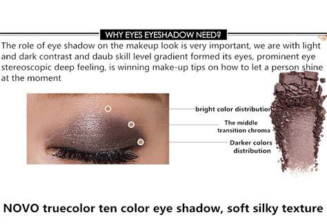 Hello Eyeshadow Eye Shadow Pallete Baru Produk Dan Alat novo eye shadow true color 10 warna 15g no 1 jakartanotebook
