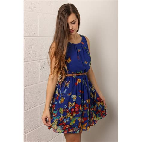 Buterfly Dres butterfly print dress you are wonderful ksistyle