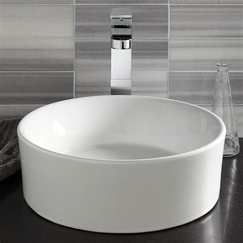 Designer Kitchen Faucets vessel bathroom sink pop round vessel lavatory from dxv