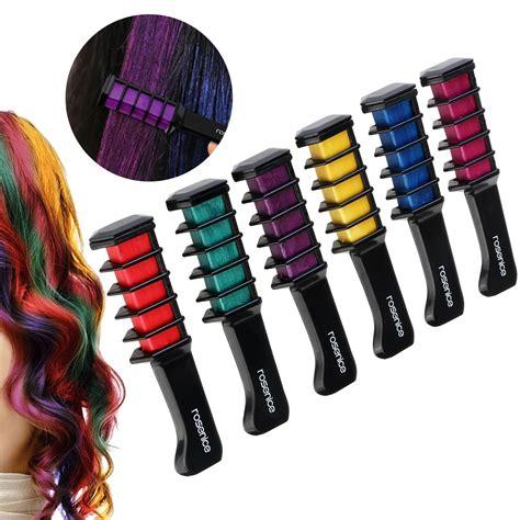 chalk hair color hair chalk metallic glitter temporary hair