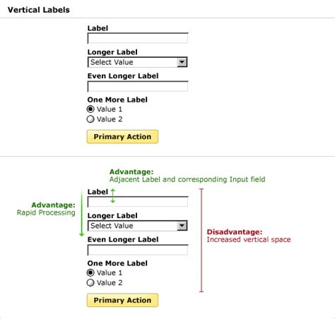 form layout design exles lukew web application form design