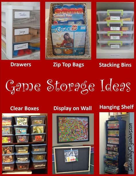 game storage ideas board game storage ideas help pinterest