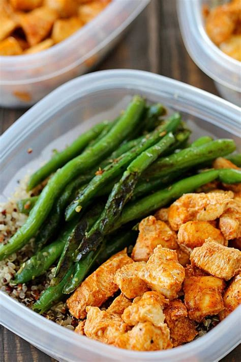 healthy easy to cook dishes meal prep baked lime chicken bowls healthy easy