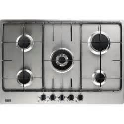 plaque de cuisson gaz 5 foyers inox faure fgg75524xa
