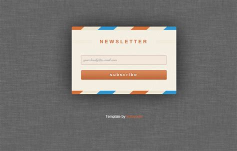 newsletter signup form template free website templates usa uk canada india europe and