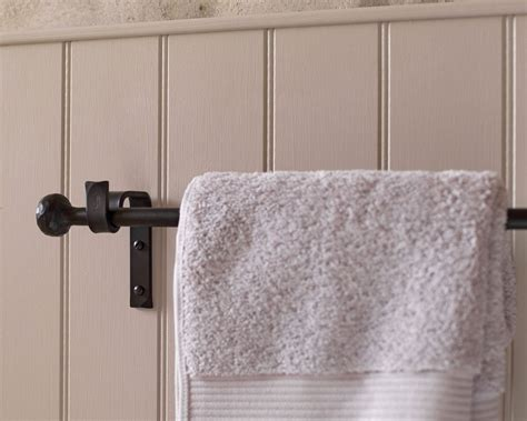 Kitchen Towel Rail Racks by Kitchen Towel Rail In Wrought Iron
