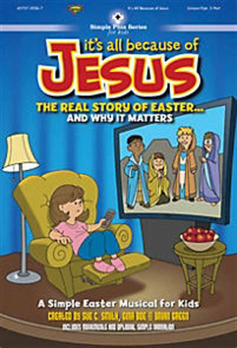 show me a story why picture books matter it s all because of jesus the real story of easter and