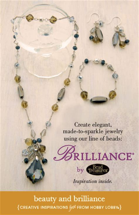hobby lobby jewelry supplies hobbylobby projects and brilliance