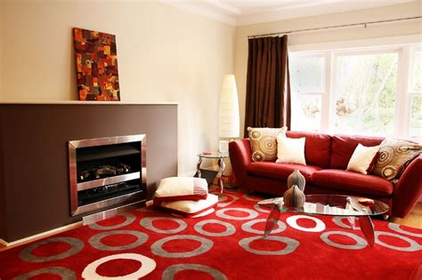 brown and red living room red and brown living room contemporary living room