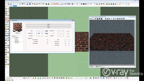 tutorial vray sketchup youtube v ray for sketchup bump and displacement tutorial
