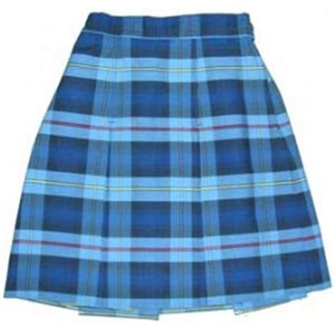 blue plaid skirt redskirtz