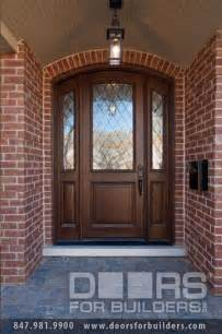 Exterior Front Entry Wood Doors With Glass Solid Wood Entry Doors Glass Doors For Builders Inc Front Doors Chicago By Doors