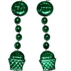 beaded basketball net 36in metallic green basketball net basketball