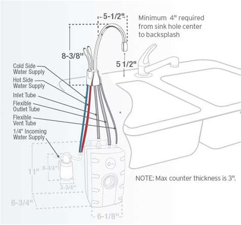 insinkerator parts diagram insinkerator f gn1100c indulge instant water dispenser